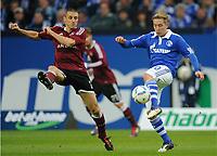 v.l. Timmy Simons, Lewis Holtby (Schalke)<br /> <br /> Bundesliga, FC Schalke 04 - 1. FC Nürnberg<br /> <br /> norway only