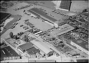 "ackroyd_04439-1. ""Aerials. West Coast Fast Freight. May 31, 1953"" (Calbag junkyard) 2800 NW 25th Ave."
