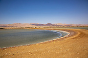 The salt pool near Eilat, Israel