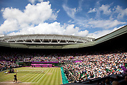 Serena Williams versus Maria Sharapova in the women's gold medal match.