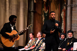Craig David performs during the Commonwealth Service at Westminster Abbey, London on Commonwealth Day. The service is the Duke and Duchess of Sussex's final official engagement before they quit royal life.