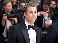 Brad Pitt at the Once Upon A Time... In Holywood gala screening at the 72nd Cannes Film Festival Tuesday 21st May 2019, Cannes, France. Photo credit: Doreen Kennedy
