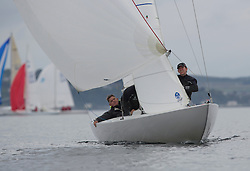 Largs Regatta Week 2015, hosted by Largs Sailing Club and Fairlie Yacht Club<br /> <br /> Etchell, GBR1173, Local Hero, Geoffrey Howison<br /> <br /> Credit Marc Turner