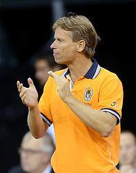 12-09-2014 NED: Davis Cup Nederland - Kroatie, Amsterdam<br /> Jan Siemerink