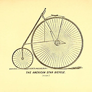 The American Star Bicycle was invented in 1880 by G. W. Pressey and manufactured by the H. B. Smith Machine Company in Smithville, Burlington County, New Jersey. It was characterized by a small wheel in front to avoid the problem of tipping forward inherent in other high wheelers.