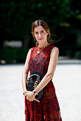 Street style, Gala Gonzalez arriving at Dior Fall-Winter 2018-2019 Haute Couture show held at Musee Rodin, in Paris, France, on July 2nd, 2018. Photo by Marie-Paola Bertrand-Hillion/ABACAPRESS.COM