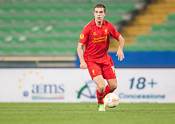 06.12.2012, Stadio Friuli, Udine, ITA, UEFA EL, Udinese Calcio vs FC Liverpool, Gruppe A, im Bild Jordan Henderson (# 14, Liverpool FC) // during the UEFA Europa League group A match between Udinese Calcio and Liverpool FC at the Stadio Friuli, Udinese, Italy on 2012/12/06. EXPA Pictures © 2012, PhotoCredit: EXPA/ Juergen Feichter