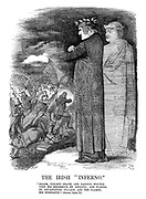 """The Irish """"Inferno."""" """"Death, violent death, and painful wounds upon his neighbour he inflicts; and wastes, by devastation, pillage, and the flames, his substance."""" - Dante, Canto XI."""