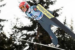 February 7, 2019 - Ljubno, Savinjska, Slovenia - Katharina Althaus of Germany competes on qualification day of the FIS Ski Jumping World Cup Ladies Ljubno on February 7, 2019 in Ljubno, Slovenia. (Credit Image: © Rok Rakun/Pacific Press via ZUMA Wire)