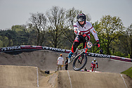#84 (VEIDE Rihards) LAT at the 2016 UCI BMX Supercross World Cup in Papendal, The Netherlands.