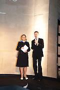 MIUCCIA PRADA; SIR NICHOLAS SEROTA, Turner Prize 2010. Tate Britain. Millbank. London. 6 December 2010. -DO NOT ARCHIVE-© Copyright Photograph by Dafydd Jones. 248 Clapham Rd. London SW9 0PZ. Tel 0207 820 0771. www.dafjones.com.