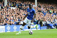 Romelu Lukaku of Everton in action. Premier league match, Everton v Chelsea at Goodison Park in Liverpool, Merseyside on Sunday 30th April 2017.<br /> pic by Chris Stading, Andrew Orchard sports photography.