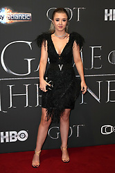 Kerry Ingram attending the Game of Thrones Premiere, held at Waterfront Hall, Belfast.