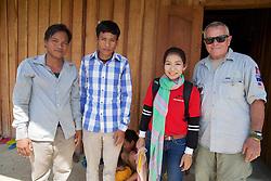 Sophary & Bill Morse With Teachers
