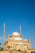 Exterior view of the Mosque of Muhammad Ali, Al Abageyah, El-Khalifa, Cairo Governate, Egypt.