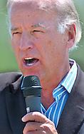 8/16/06 Des Moines. IASen. Joseph Biden speaks at an anti Wal Mart event in Des Moines Wednesday afternoon. (Chris Machian/Prairie Pixel Group)
