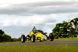 Chris Wilsher pictured competing in the 750 Motor Club's Formula Vee Championship. Image captured at Snetterton on July 18, 2020 by 750 Motor Club's photographer Jonathan Elsey
