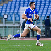 Roma 13/03/2021, Stadio Olimpico<br /> Guinness Six Nations 2021<br /> Italia vs Galles<br /> <br /> Edoardo Padovani