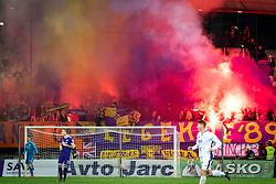 Viole, fans of Maribor during football match between NK Maribor and ND Gorica in 22nd Round of Prva liga Telekom Slovenije 2018/19, on March 09, 2019 in Ljudski Vrt, Maribor, Slovenia. Photo by Blaž Weindorfer / Sportida