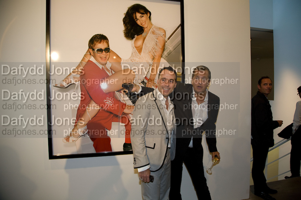 DAVID FURNISH; MARIO TESTINO, Mario Testino: Obsessed by You -  private view<br />