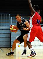 Basket BLNO<br /> 07. Desember 2008<br /> Haukelandshallen<br /> Ulriken - Fjellhamar<br /> Aleksander Paunovic , Fjellhamar<br /> Peter Bullock , Ulriken<br /> Foto : Astrid M. Nordhaug