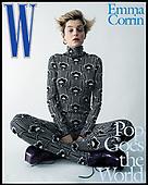 August 24, 2021 - USA: Emma Corrin Covers W Magazine