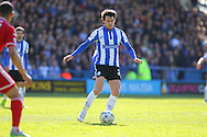 Sheffield Wednesday midfielder Kieran Lee (20) during the Sky Bet Championship match between Sheffield Wednesday and Cardiff City at Hillsborough, Sheffield, England on 30 April 2016. Photo by Phil Duncan.