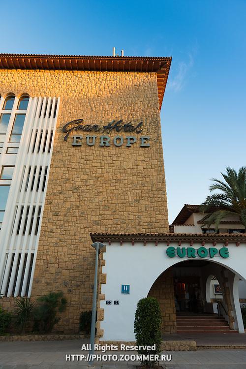 Grand Hotel Europe, San Salvador, Costa Daurada, Spain