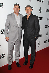 May 15, 2019 - London, United Kingdom - Kyle Chandler and George Clooney attend the Catch 22 - TV Series premiere at the Vue Westfield, Westfield Shopping Centre, Shepherds Bush (Credit Image: © Keith Mayhew/SOPA Images via ZUMA Wire)