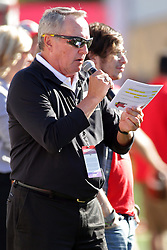 08 October 2016:  Dave Colee.  NCAA FCS Missouri Valley Football Conference Football game between Youngstown State Penguins and Illinois State Redbirds at Hancock Stadium in Normal IL (Photo by Alan Look)