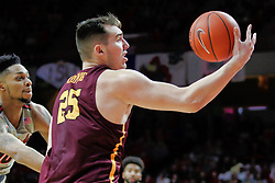 NORMAL, IL - February 02: Cameron Krutwig during a college basketball game between the ISU Redbirds and the University of Loyola Chicago Ramblers on February 02 2019 at Redbird Arena in Normal, IL. (Photo by Alan Look)