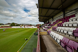 Prestonfield Stadium, Linlithgow. Home ground of Linlithgow Rose Football Club. They now play in the East of Scotland Football League.