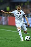 Ansi Agolli Albania<br /> Marseille 15-06-2016 Stade du Velodrome <br /> Football Euro2016 France-Albanie/Francia-Albania Group Stage Group A<br /> Foto Massimo Insabato / Insidefoto