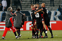 FOOTBALL - UEFA EUROPA LEAGUE 2009/2010 - 1/8 FINAL - 2ND LEG - OLYMPIQUE MARSEILLE v BENFICA - 18/03/2010 - PHOTO PHILIPPE LAURENSON / DPPI - JOY BENEFICA