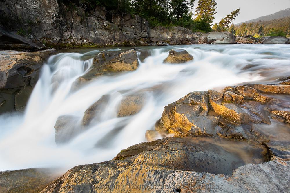 Castle Falls, Castle Provincial Park, Alberta