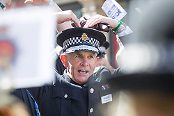 © Licensed to London News Pictures . FILE PICTURE DATED 23/08/2014 of SIR PETER FAHY in Manchester . The Greater Manchester Police Chief Constable has today (9th July 2015) announced he will stand down in October 2015 . Photo credit : Joel Goodman/LNP