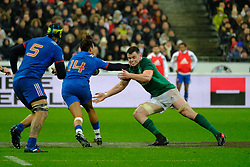 February 3, 2018 - Saint Denis, Seine Saint Denis, France - The Wing of French Team TEDDY THOMAS in action during the NatWest Six Nations Rugby tournament between France and Ireland at the Stade de France - St Denis - France..Ireland Won 15-13 (Credit Image: © Pierre Stevenin via ZUMA Wire)