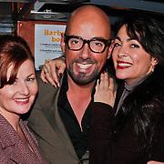 NLD/Amsterdam/20101218 - Verjaardag Maik de Boer met familie en vrienden, Maik met Monique Klemann en vriendin Annemarie