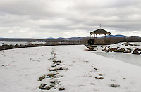 Krebs Farm in Sanbornton offers commanding views of Lake Winnisquam.  (Karen Bobotas/for the Laconia Daily Sun)