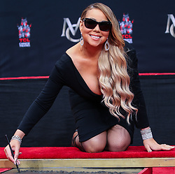 Mariah Carey is honored with a Hand and Footprint Ceremony at the TCL Chinese Theatre IMAX on November 1, 2017 in Hollywood, California. 11 Jan 2017 Pictured: Mariah Carey. Photo credit: IPA/MEGA TheMegaAgency.com +1 888 505 6342