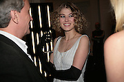 ROSAMUND PIKE, Cos Collection launch. Launch of new Hennes And Mauritz brand. Royal academy of Arts. Burlington Place. london. 14 march 2007.  -DO NOT ARCHIVE-© Copyright Photograph by Dafydd Jones. 248 Clapham Rd. London SW9 0PZ. Tel 0207 820 0771. www.dafjones.com.
