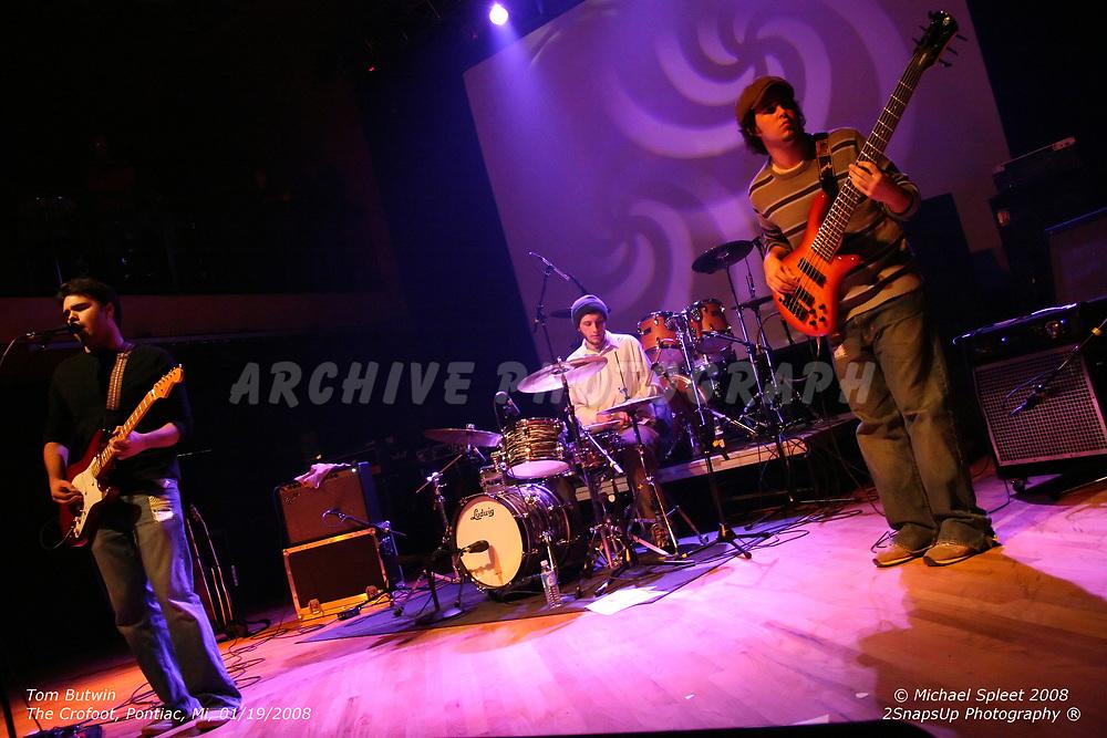 PONTIAC, MI, SATURDAY, JAN. 19, 2008: Tom Butwin,  at The Crofoot, Pontiac, MI, 01/19/2008. (Image Credit: Michael Spleet / 2SnapsUp Photography)