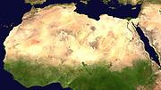 Sahara Desert (satellite image)