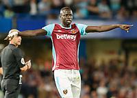Football - 2016/2017 Premier League - Chelsea V West Ham United. <br /> <br /> Cheikhou Kouyate of West Ham at Stamford Bridge.<br /> <br /> COLORSPORT/DANIEL BEARHAM
