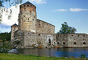 Olavinlinna Castle, Savonlinna, East Finland, Scandinavia 1973