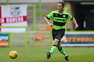 Forest Green Legends Alex Sykes during the Trevor Horsley Memorial Match held at the New Lawn, Forest Green, United Kingdom on 19 May 2019.
