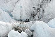 Stuctures on the glacier Grosser Aletschgletscher, Fiescheralp, Valais, Switzerland<br /> <br /> Strukturen auf dem Grossen Aletschgletscher, Fiescheralp, Wallis, Schweiz