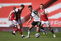 Football - 2020 /2021 Premier League - Arsenal v Fulham - Emirate Stadium<br /> <br /> Fulham's Antonee Robinson in action during this afternoon's game.<br /> <br /> COLORSPORT