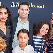 NLD/Utrecht/20170923 - Première Dummie de Mummie en de Tombe van Achnetoet, Yahya Galer, partner en kinderen