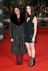 Kaya Scodelario (right) and Mother attending the Maze Runner: The Death Cure fan screening held at Vue West End in Leicester Square, London. Photo credit should read: Doug Peters/EMPICS Entertainment